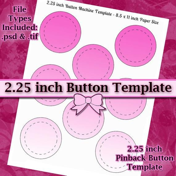 1 25 Inch button Template 2 25 Inch button Machine Template Diy Digital Collage