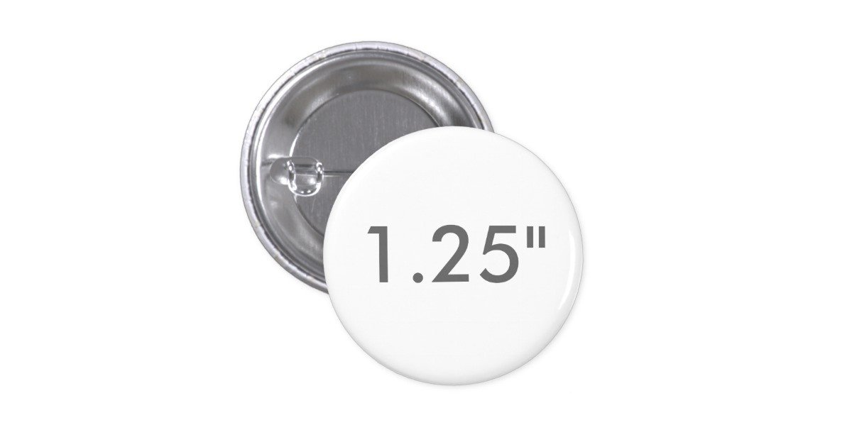 "1 25 Inch button Template Custom 1 25"" Inch Small Round Badge Blank Template button"