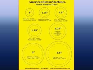 1 25 Inch button Template Free button Making Templates for Shop button Maker