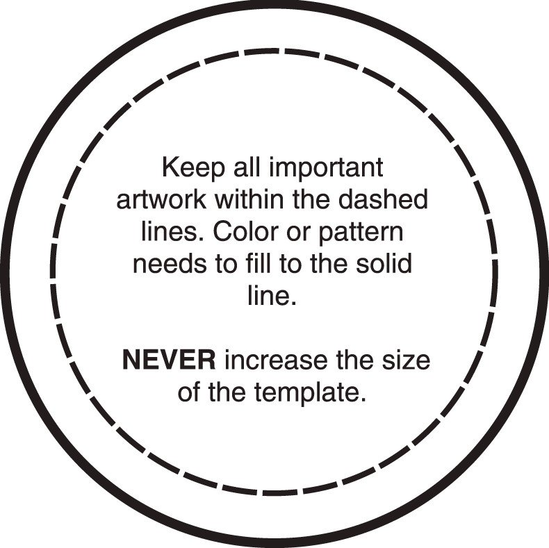1 25 Inch button Template Templates Art Specs —