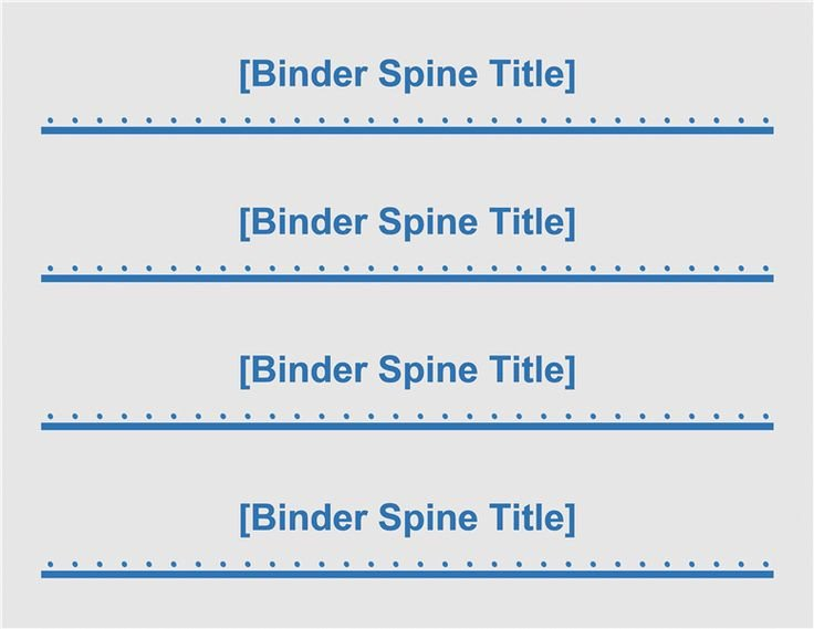 1 5 Inch Binder Spine Template Best 25 Binder Spine Labels Ideas On Pinterest