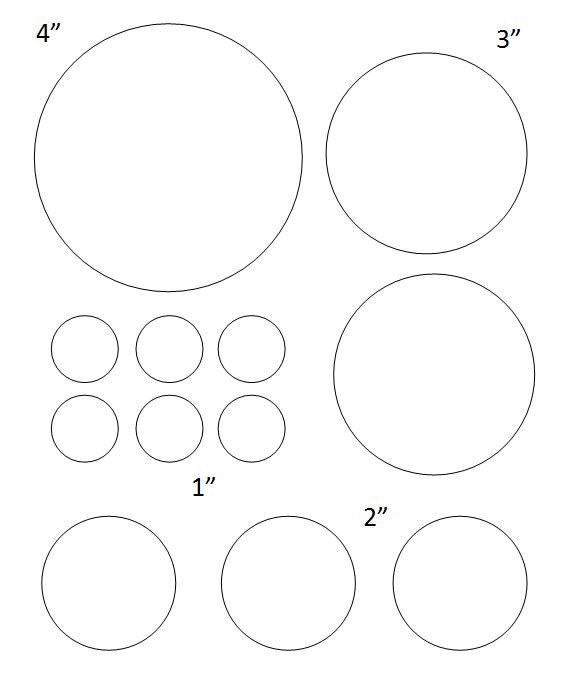 1 Inch Circle Label Template Free Printable Circle Templates and Small Stencils