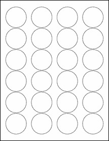"""1 Inch Circle Label Template Round Labels Circle Labels Ol325 1 67"""" Circle"""