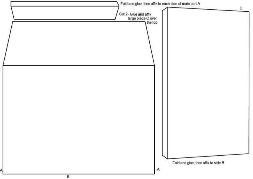 10 Envelope Template Word 2 A2 Envelope Template Word Sampletemplatess