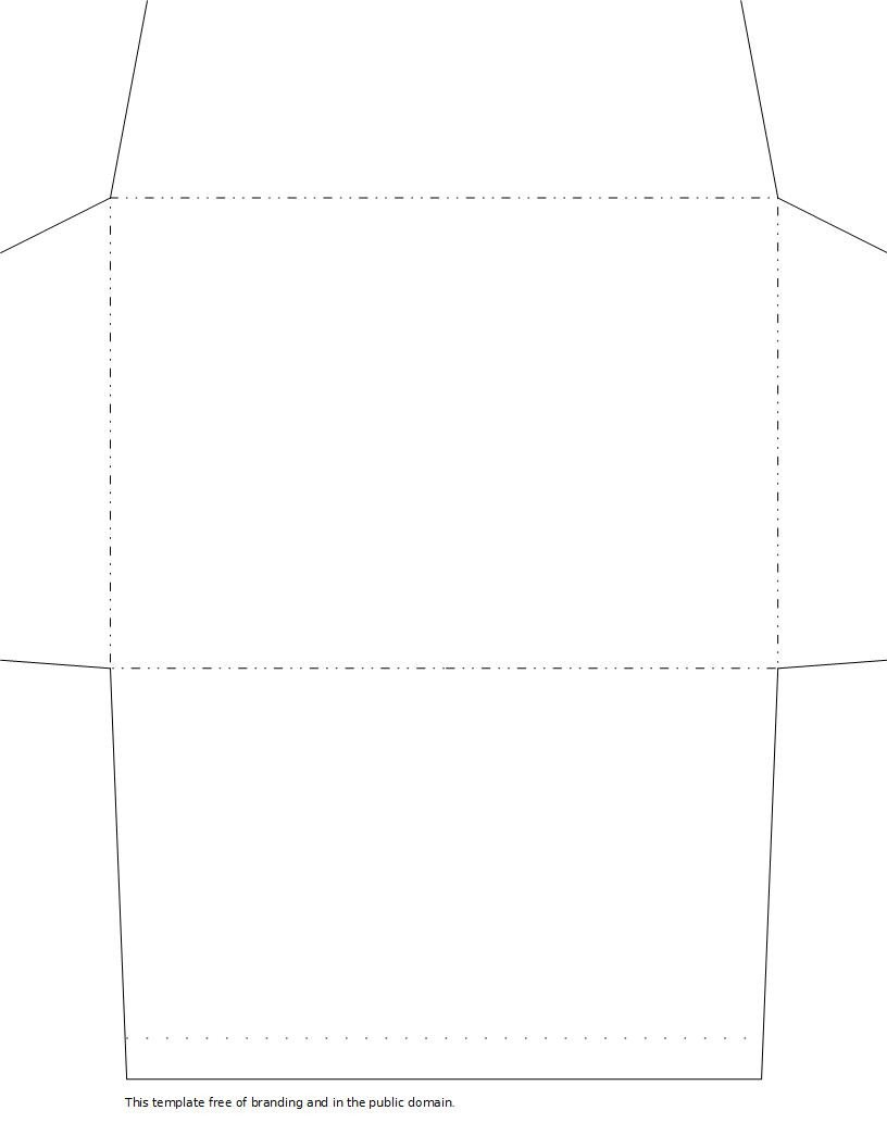 10 Envelope Template Word 2 Envelope Templates
