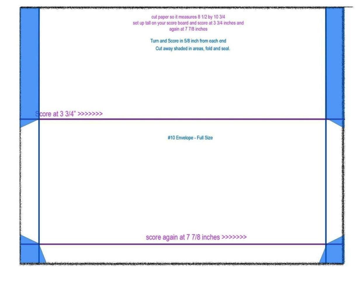 10 Envelope Template Word 2 No 10 Envelope Template Word Sampletemplatess