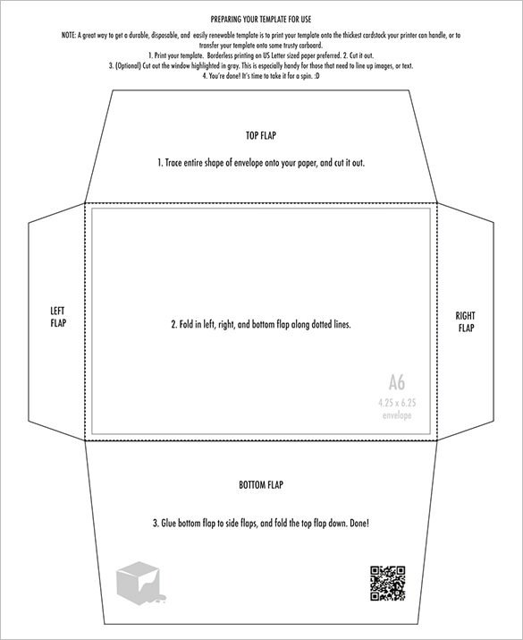 10 Envelope Template Word 4×6 Envelope Templates – 9 Free Printable Word Pdf Psd