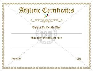 123 Awards Certificates 16 Best Images About Sports Certificate On Pinterest
