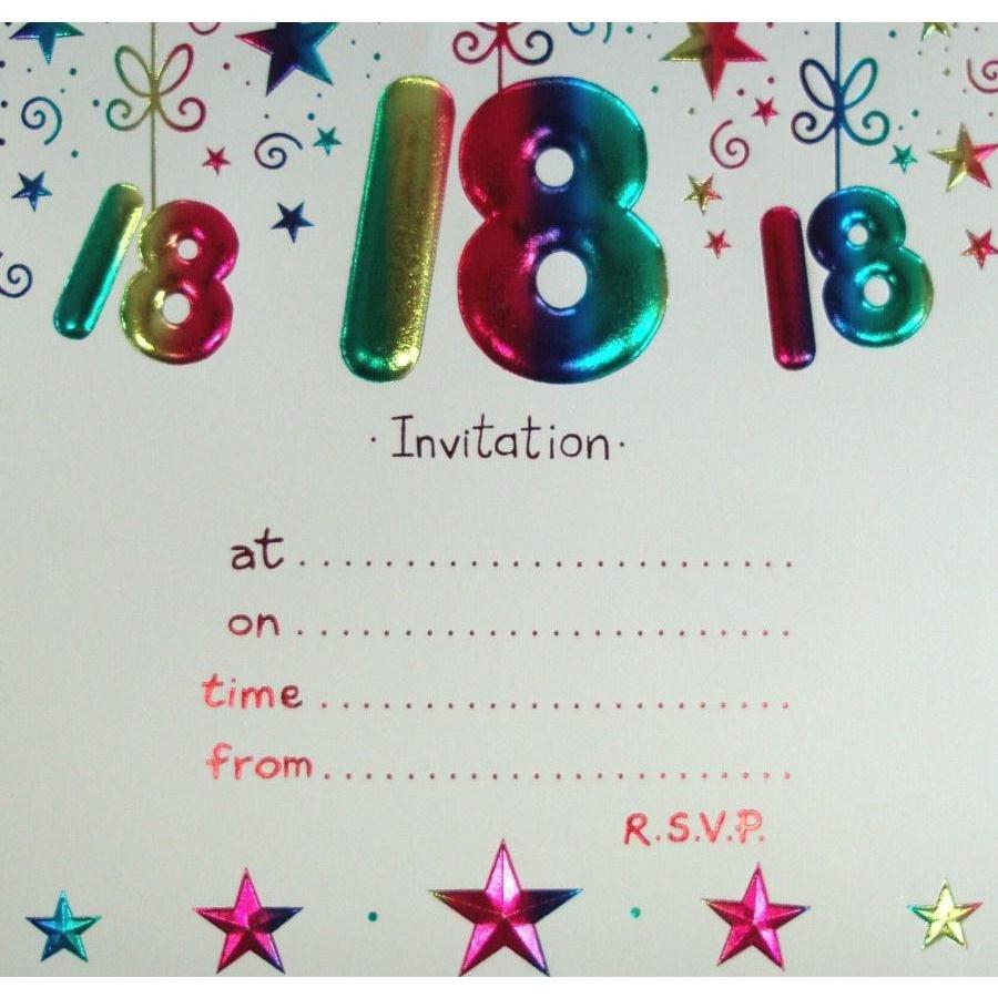 18th Birthday Invitation Templates 18 Birthday Invitation Templates 18th Birthday