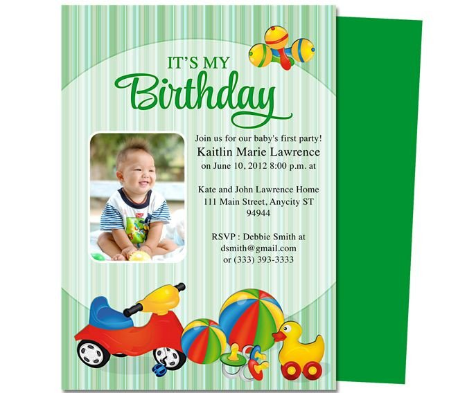 1st Birthday Invitation Template 13 Best Images About Printable 1st First Birthday