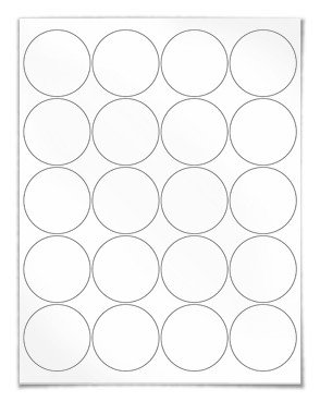 2 Inch Round Label Template 2 Round Label Template