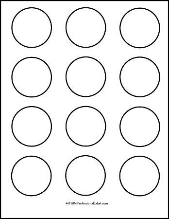 2 Inch Round Label Template Best S Of Printable 1 2 Inch Circle Template 1 Inch