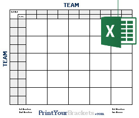 25 Square Football Pool Excel Spreadsheet Football Square Grids