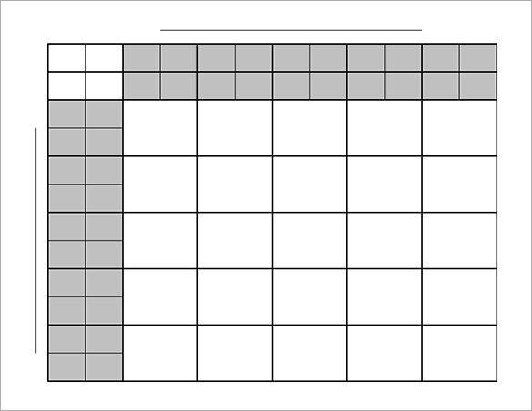 25 Square Football Pool Football Pool Template 17 Free Word Excel Pdf