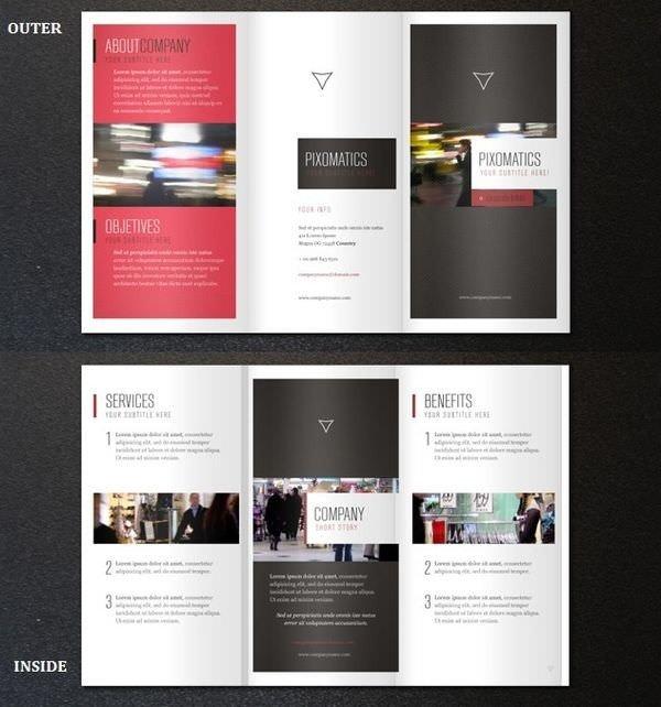 3 Fold Brochures Templates 25 Tri Folder Brochure Mockups Psd Vector Eps Jpg