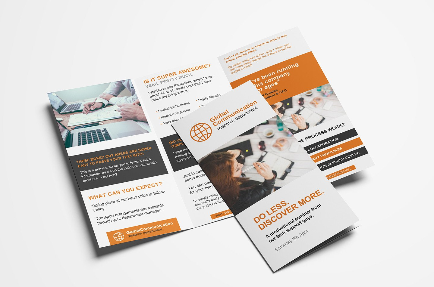 3 Fold Brochures Templates Free 3 Fold Brochure Template for Shop & Illustrator