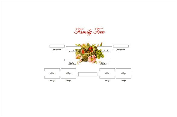 3 Generation Family Tree 3 Generation Family Tree Template – 10 Free Sample