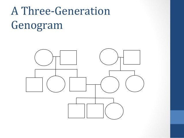 3 Generation Genogram Template the Neats Neurobiology