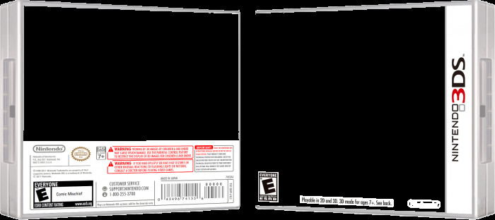 3ds Game Cover Template 3ds Template
