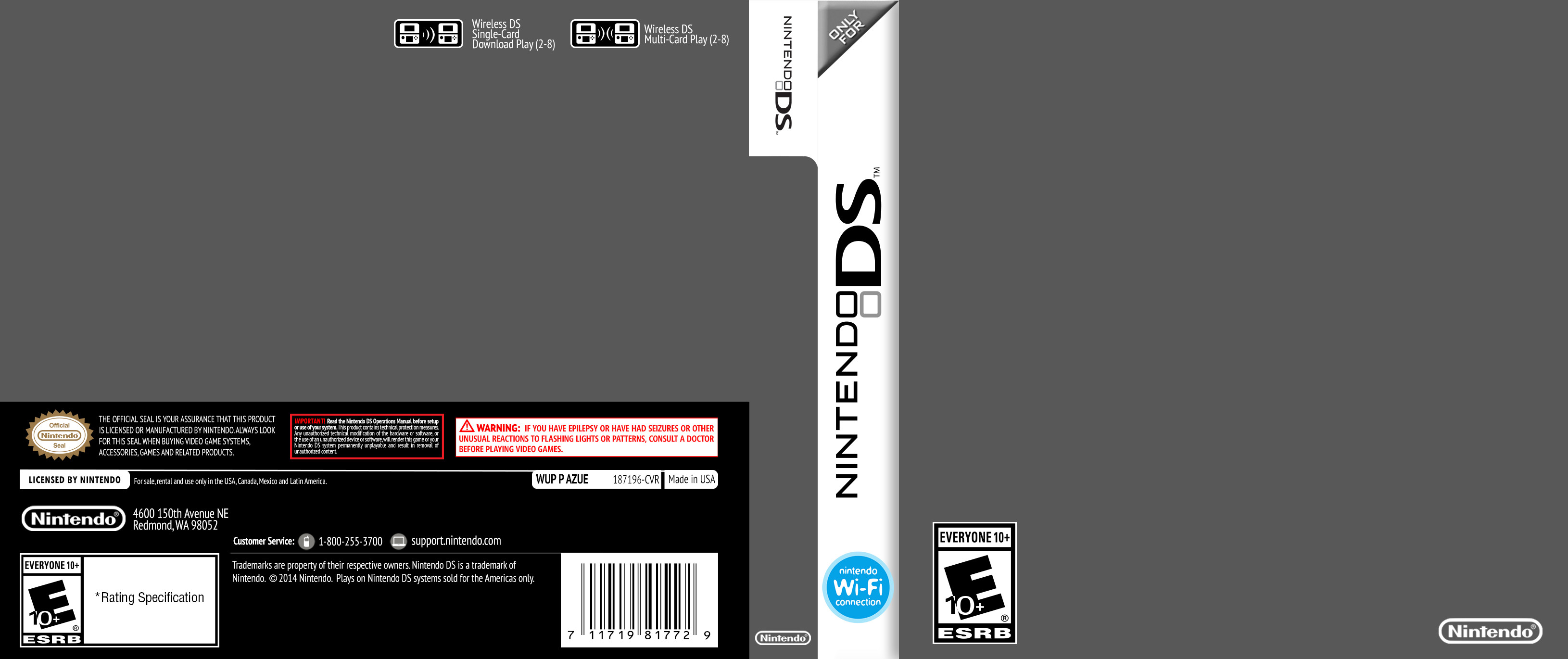 3ds Game Cover Template Nintendo Ds Cover Template by Etschannel On Deviantart