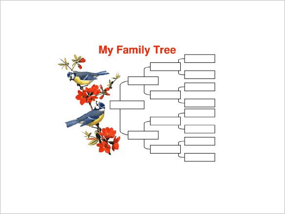 4 Generation Family Tree 4 Generation Family Tree Template – 12 Free Sample