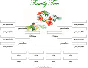 4 Generation Family Tree 4 Generation Family Trees