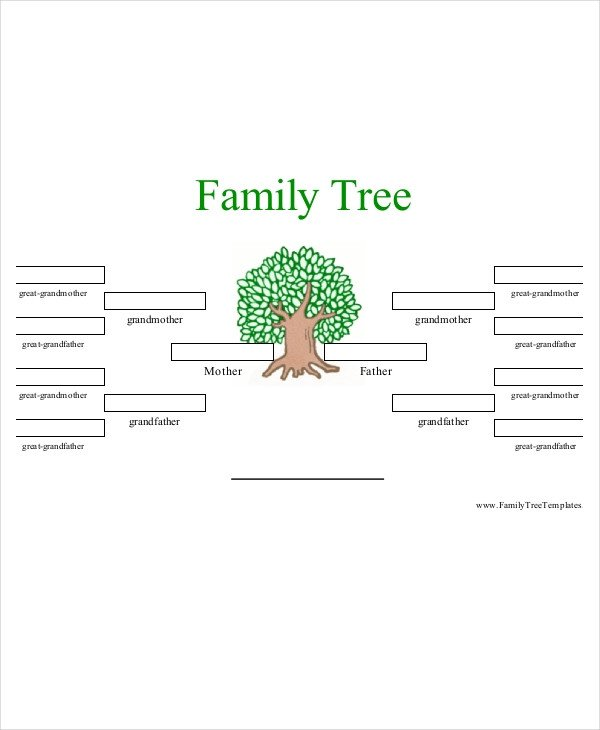 4 Generation Family Tree Family Tree Template 10 Free Psd Pdf Documents