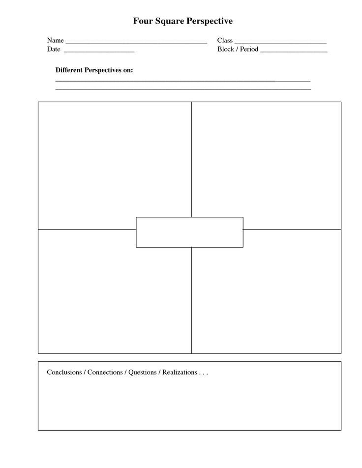 4 Square Writing Template 1000 Ideas About Four Square Writing On Pinterest