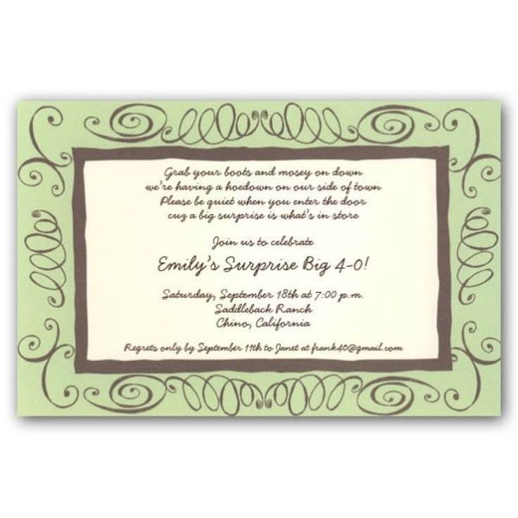 40th Birthday Invitation Wording Best 25 40th Birthday Invitation Wording Ideas On