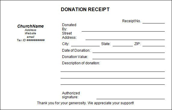 501c3 Donation Receipt Sample Donation Receipt Template 17 Free Documents In