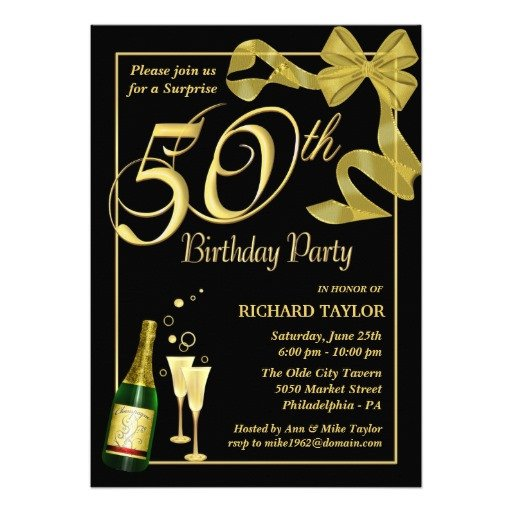 50th Birthday Invitation Template Blank 50th Birthday Party Invitations Templates