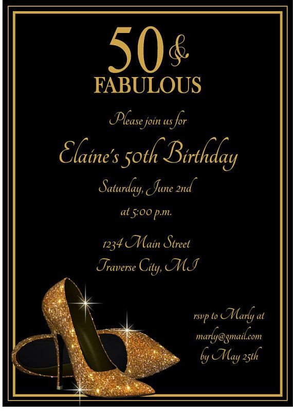 50th Birthday Invitations Templates Best 25 50th Birthday Invitations Ideas On Pinterest
