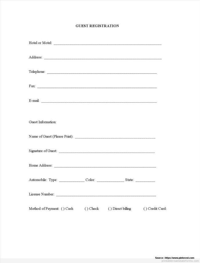 5k Registration form Template 5k Registration form Template Free Templates Resume