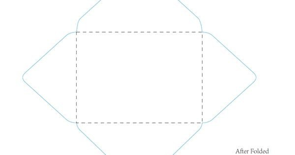 5x7 Envelope Template Word 5 25 X 7 25 Envelope Template In Word Name