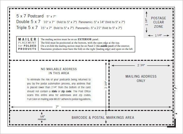 5x7 Envelope Template Word 6 5x7 Envelope Templates Doc Psd Pdf