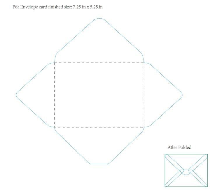 5x7 Envelope Template Word Best 25 Envelope Template Printable Ideas On Pinterest