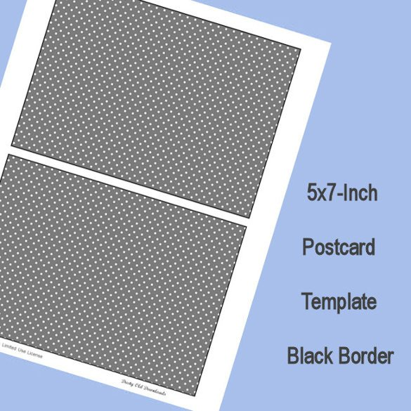 5x7 Postcard Template for Word 18 5×7 Postcard Templates – Free Sample Example format
