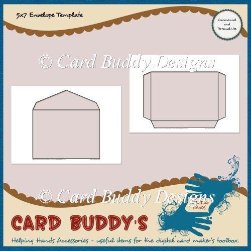 5x7 Postcard Template for Word 5x7 Envelope Template – Cu Pu £1 80 Scrapbookingmad