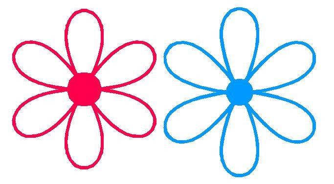 6 Petal Flower Template 6 Petal Flower Template Clipart Best