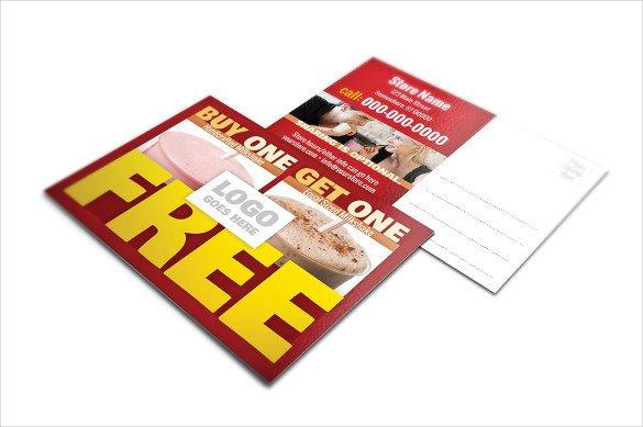 6 X 9 Postcard Template 12 6×9 Postcard Templates – Free Sample Example format