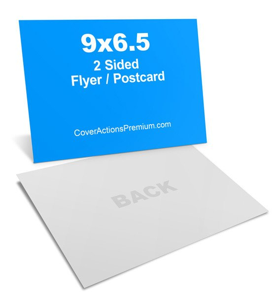 6 X 9 Postcard Template 6 5 X 9 Postcard Mockup Cover Actions Premium