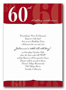 60th Birthday Program Sample 60 Th Program