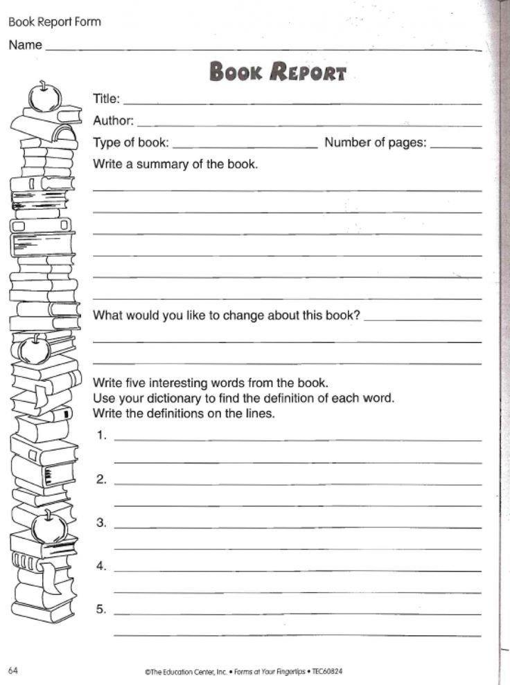 6th Grade Book Report Template Image Result for 6th Grade Book Report format