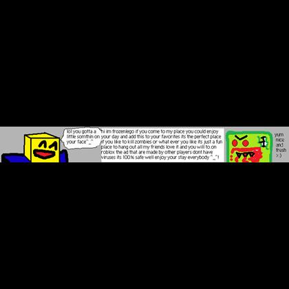 728x90 Roblox Ad Roblox Banner Roblox