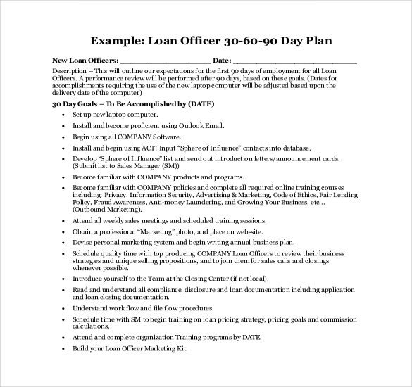 90 Day Action Plan Templates 22 30 60 90 Day Action Plan Templates Free Pdf Word