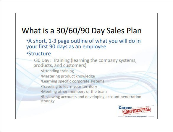 90 Day Sales Plan Sales Action Plan Template 14 Free Pdf Word format