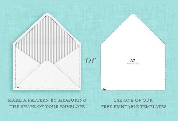 A7 Envelope Liner Template 9 A7 Envelope Templates Doc Psd Pdf