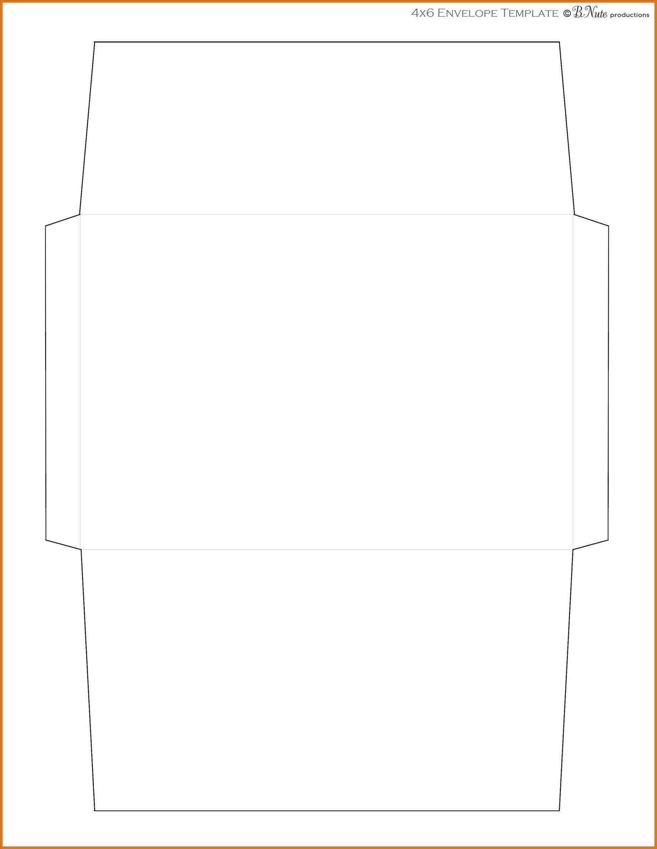 A7 Envelope Liner Template A7 Envelope Liner Template