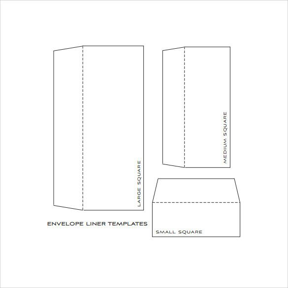 A7 Envelope Liner Template Envelope Liner Template 8 Free Samples Examples & formats