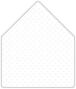A7 Envelope Liner Template Polkadot Pink A7 Envelope Liner for A7 Envelopes 25 Pk